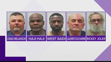 Five men arrested in Lewiston prostitution sting
