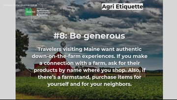 The do's and don'ts of visiting Maine farms