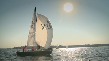 Women of Sea Bags prepare for Nationals