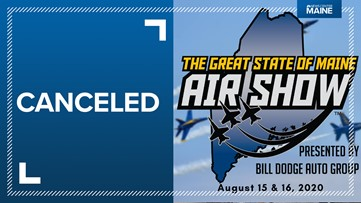 Great State of Maine Air Show canceled due to coronavirus, COVID-19 pandemic
