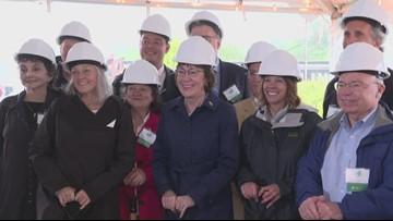 Groundbreaking for new hospice center