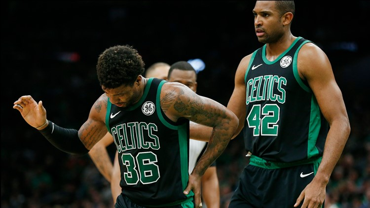 Oblique tear rips Smart from Celtics roster