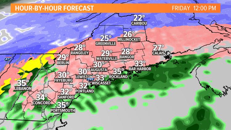 Big ice threat tomorrow