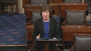 Collins on shutdown: 'Outlines of a compromise' are emerging