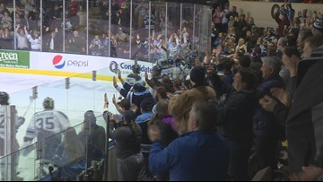Black Bears beat Yale in overtime in front of Portland crowd