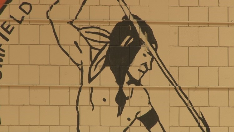 Indian mascot of Skowhegan High School was retired in March 2019.