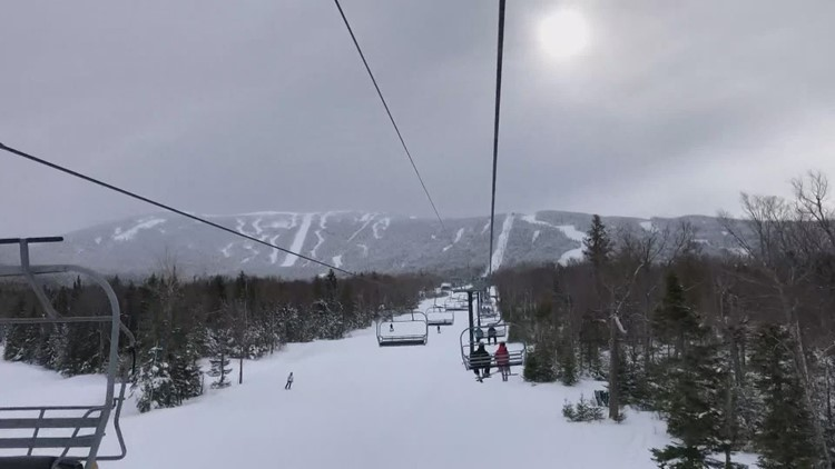 Spring skiing is in full swing at Jay Peak as temps warm up