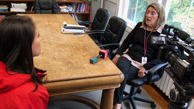 NEWS CENTER Maine's Roslyn Flaherty interviews Superintendent Donna Wolfrom of Cape Elizabeth