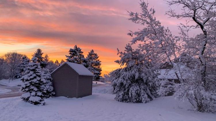 December Snow - Topsham