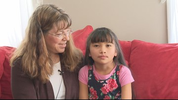Singing helped 8-year-old who could not speak to find her voice