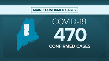Maine Coronavirus Live Blog: 10 dead, 470 confirmed cases