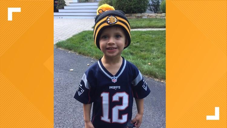 Four-year-old Maine boy raising awareness while fighting rare brain tumor