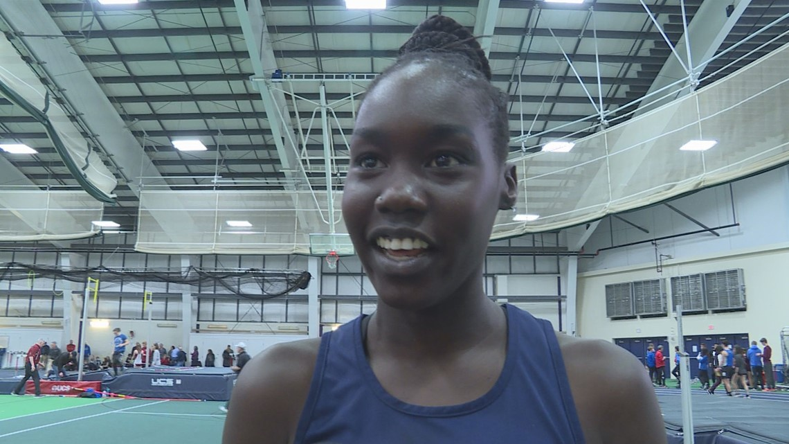 Westbrook's Bayak clears 6 feet to claim high jump state title