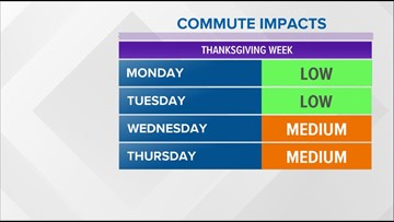 Icy conditions make for a slick Monday morning commute