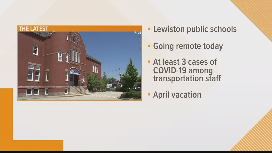 Transportation problems close schools in Lewiston