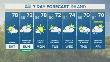 NEWS CENTER Maine Weather Forecast Video