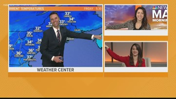 Morning Report team staying positive with a group fist bump...from a distance