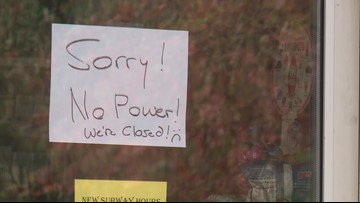 Powerful fall nor'easter causes gas and ice shortages across Maine