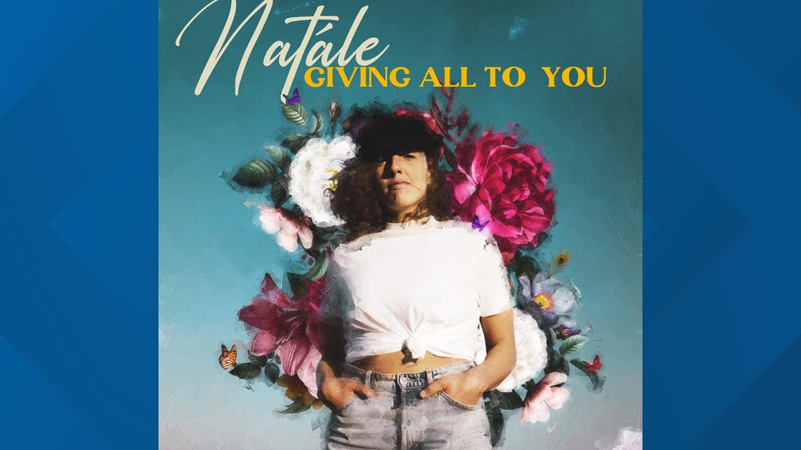 Singer songwriter, Natále, travels the country delivering her CD to radio stations