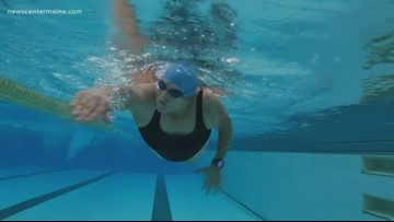Marathon swimmer Pat Gallant-Charette getting faster and healthier at 68