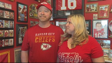 Meet two Maine residents who always cheer for the Chiefs