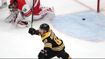 Hurricanes (penalty) box themselves into a corner against Bruins in Game 1