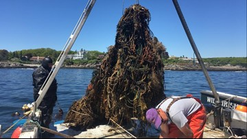 Quite a catch! 10,000 lbs of lost fishing gear hauled up from ocean floor