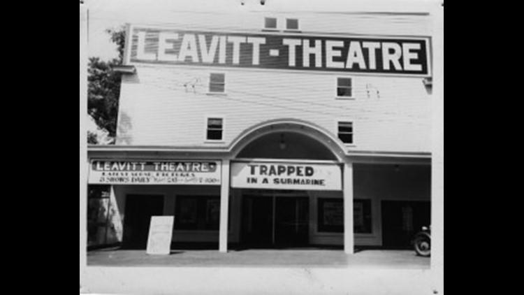 The Leavitt Theatre in 1930
