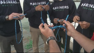 Mariners get all knotted up