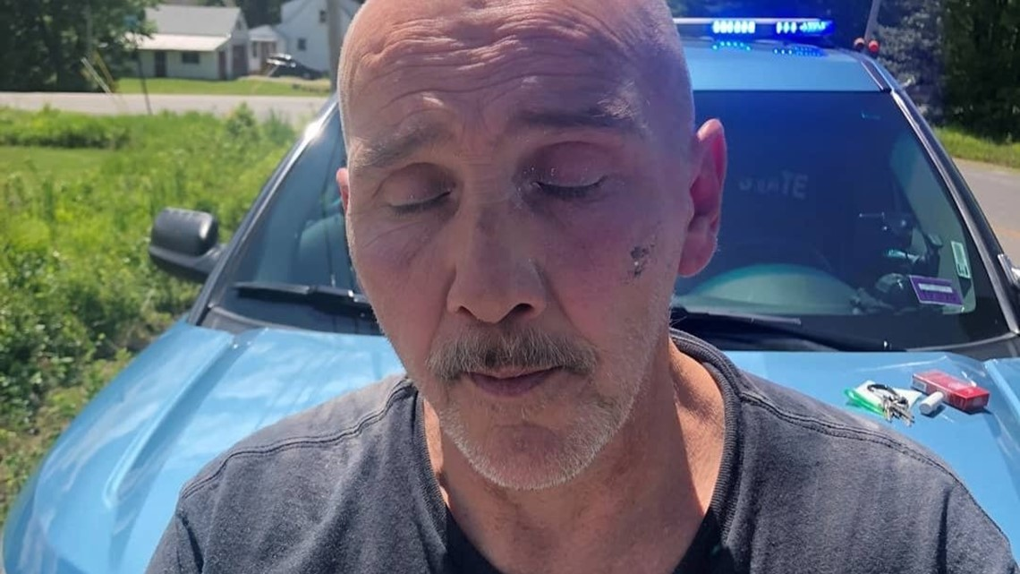Driver defies Hollis traffic stop, ends up in ditch: police