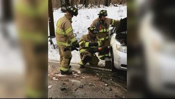 Three people die in Westbrook car crash