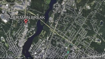 Auburn water main breaks