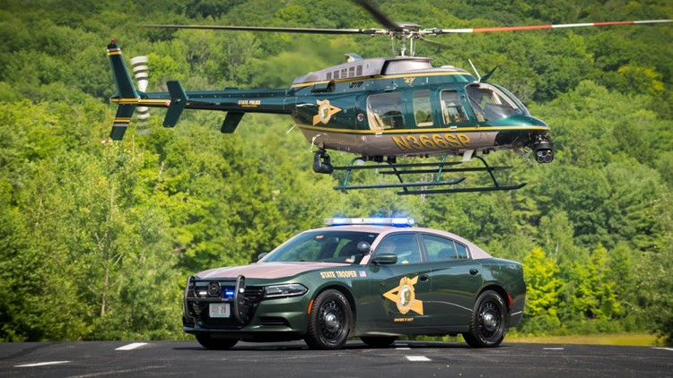 New Hampshire State Police's photo submission for the 'Best Looking Cruiser' contest.