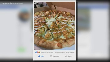 Fairgrounds Pub's photo of  pickle pizza goes viral
