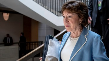 Sen. Collins pushes back against 'false' critics over statements on new evidence in impeachment trial