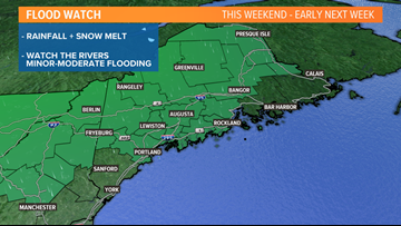 Heavy rain still on the way, with flooding possible this weekend | CORY'S BLOG
