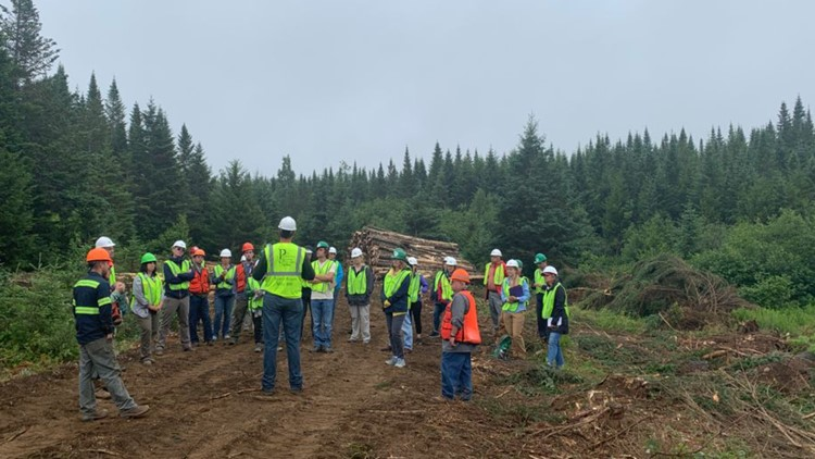 Maine teachers learn about logging industry 'to push the trades'