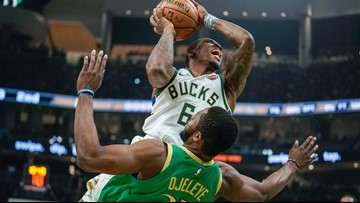 Celtics fall into the swath the Bucks are cutting across the league