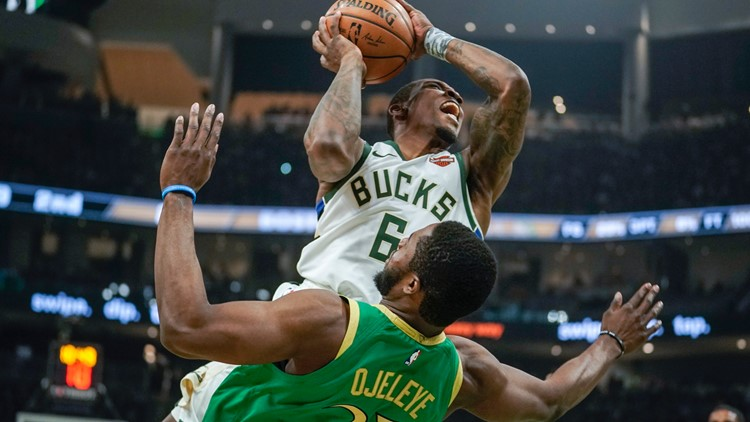 Celtics fall into the swath the Bucks are cutting across the league