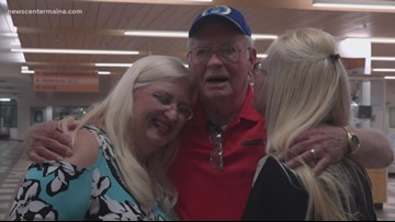 Father meets daughter, sister meets sister in double family reunion