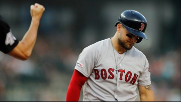 Shoulder injury is nothing for Michael Chavis to shrug off