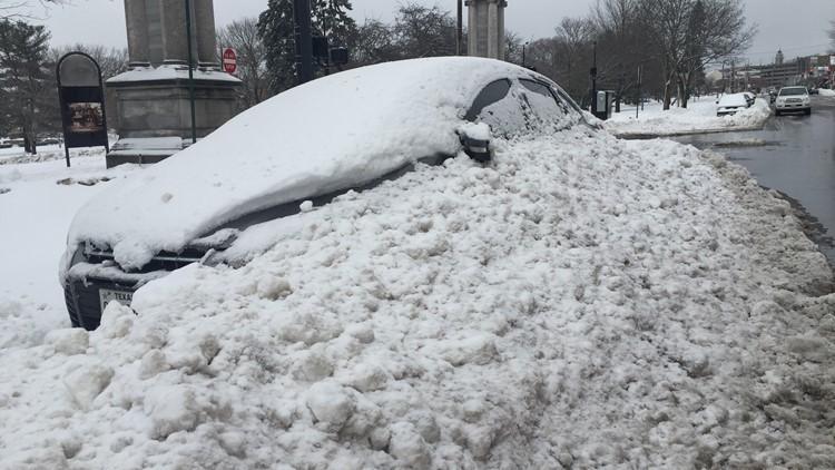 Parking ban reminders for Portland and Bangor