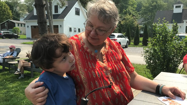 The power of kindness unites Delaware woman with young Maine cancer survivor
