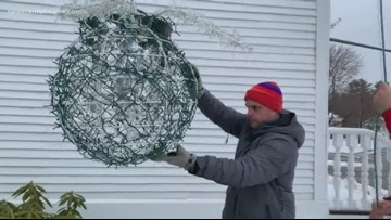 Kennebunk blueberry drop rings in new year