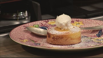 Ricotta and Rum Tart is a warm take on cheesecake