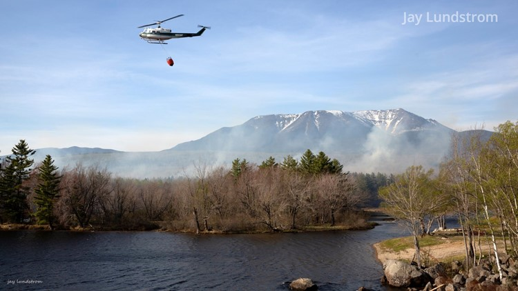 Maine wildfires