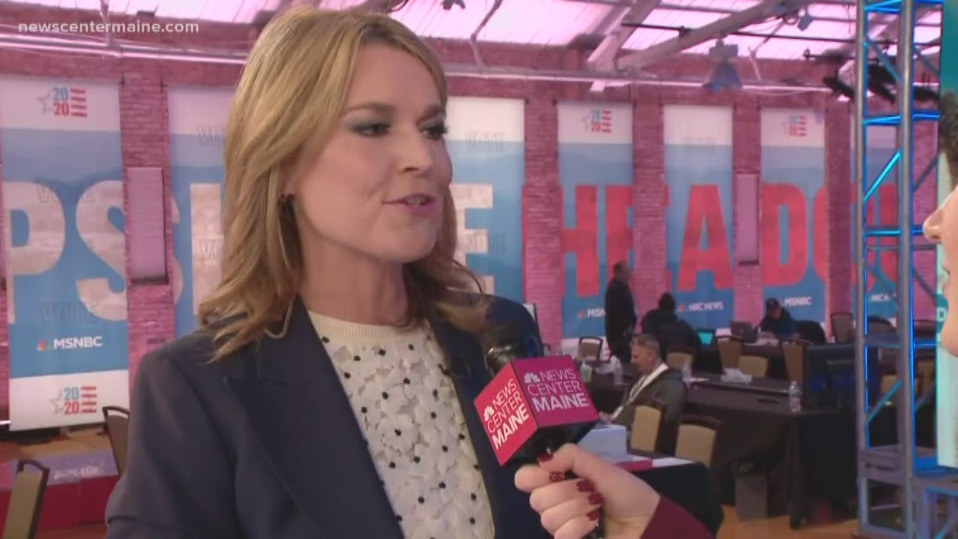Savannah Guthrie Has Been To Maine Only Once But She S Heard About The Food Newscentermaine Com