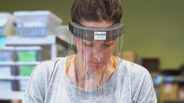 Maine business 'Flowfold' steps up to manufacture face shields for health care workers