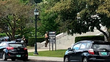 No gun or intruder found after Vermont Statehouse lockdown