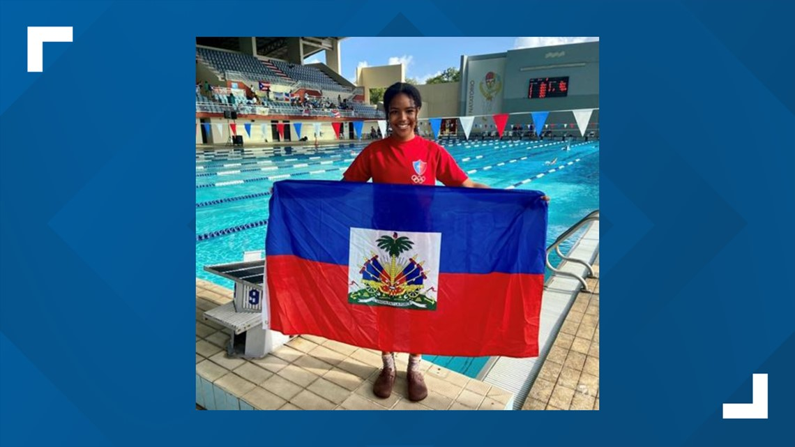 Bowdoin College swimmer prepares for Olympic debut swimming for Haiti